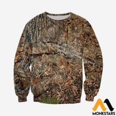 3D All Over Printed Hunting Shirts And Shorts Long-Sleeved Shirt / Xs Clothes