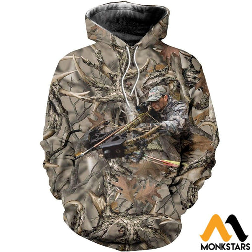 3D All Over Printed Hunting Shirts And Shorts Normal Hoodie / Xs Clothes
