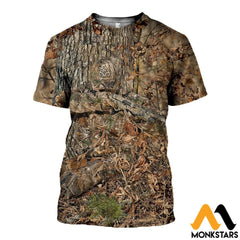 3D All Over Printed Hunting Shirts And Shorts T-Shirt / Xs Clothes