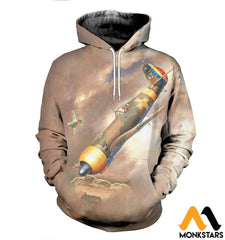 3D All Over Printed Iar 81C Clothes Normal Hoodie / Xs