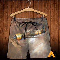 3D All Over Printed Iar 81C Clothes Shorts / Xs