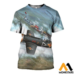 3D All Over Printed Iar 81C Clothes T-Shirt / Xs