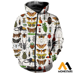 3D All Over Printed Insect Shirts And Shorts Clothes
