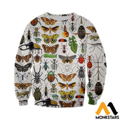 3D All Over Printed Insect Shirts And Shorts Long-Sleeved Shirt / Xs Clothes