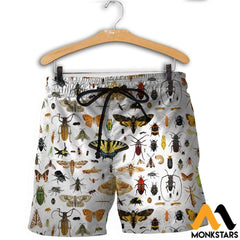 3D All Over Printed Insect Shirts And Shorts / Xs Clothes