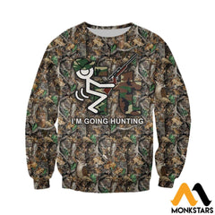 3D All Over Printed It Im Going Hunting Clothes Long-Sleeved Shirt / Xs