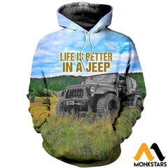 3D All Over Printed Jeep Clothes Normal Hoodie / Xs