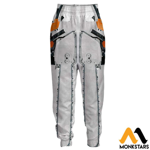 3D All Over Printed Joggers - Chainsaw S