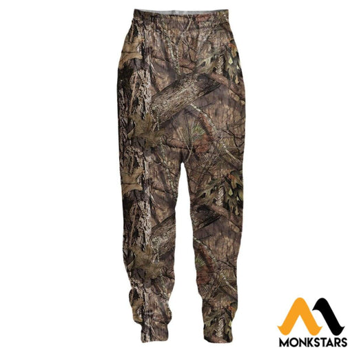 3D All Over Printed Joggers - Mossy Oak Camo S