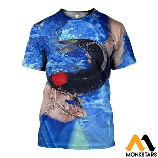 3D All Over Printed Koi Shirts And Shorts T-Shirt / Xs Clothes