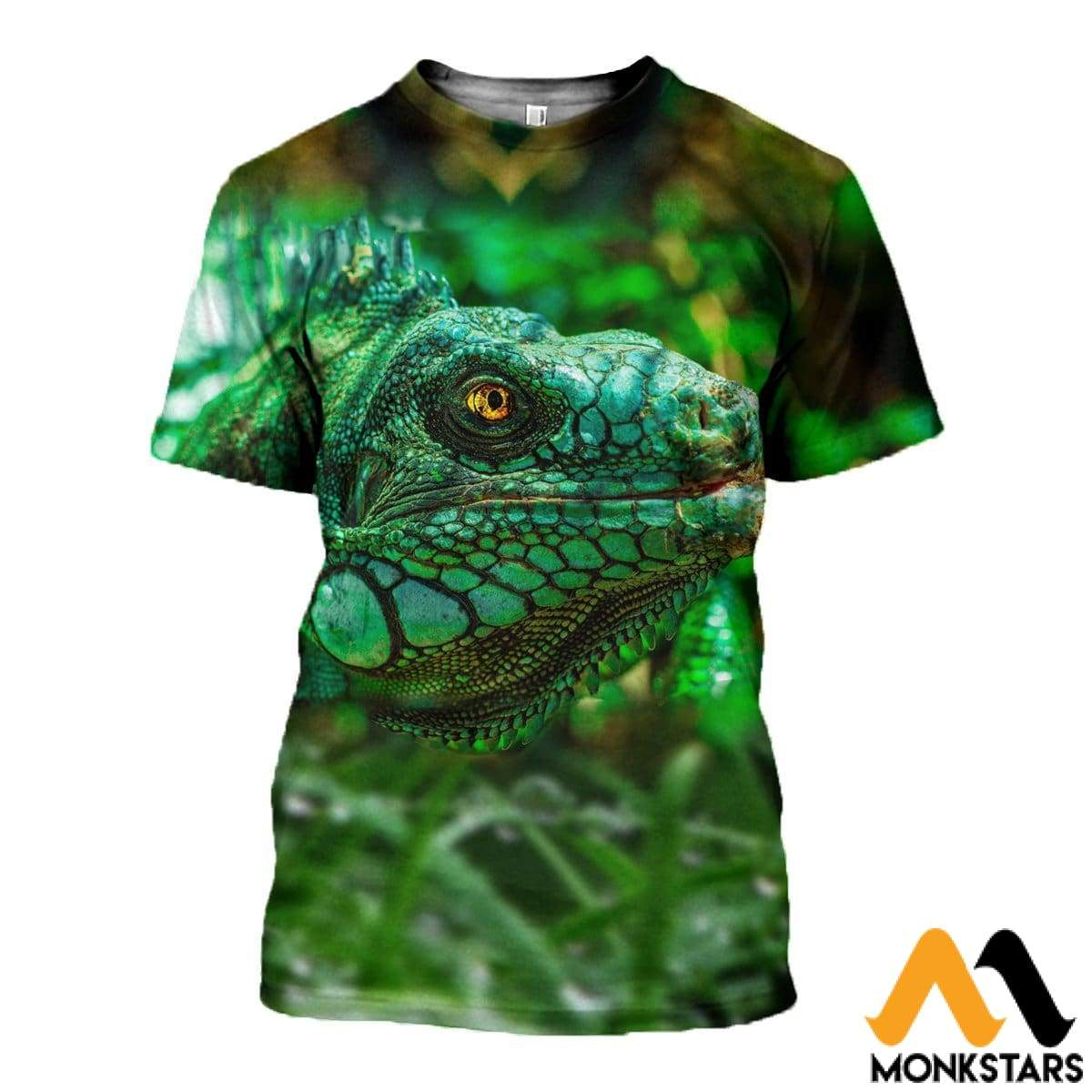 3D All Over Printed Lizard Shirts And Shorts T-Shirt / Xs Clothes