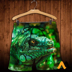 3D All Over Printed Lizard Shirts And Shorts / Xs Clothes