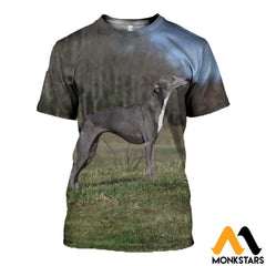 3D All Over Printed Lurcher Dog Shirts And Shorts T-Shirt / Xs Clothes