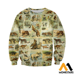 3D All Over Printed Mammals Shirts And Shorts Long-Sleeved Shirt / Xs Clothes