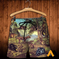 3D All Over Printed Marsupial Animals Shirts And Shorts / Xs Clothes