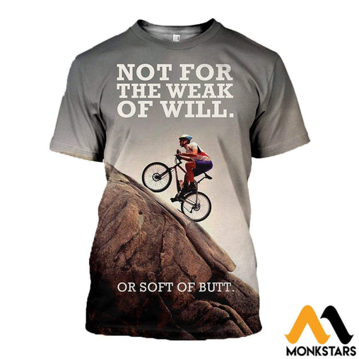 3D All Over Printed Mountain Biking Tops T-Shirt / Xs Clothes