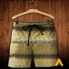 3D All Over Printed Nice Fish Skin Shirts And Shorts / Xs Clothes