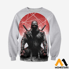 3D All Over Printed Ninja Clothes Long-Sleeved Shirt / Xs