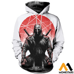 3D All Over Printed Ninja Clothes Normal Hoodie / Xs