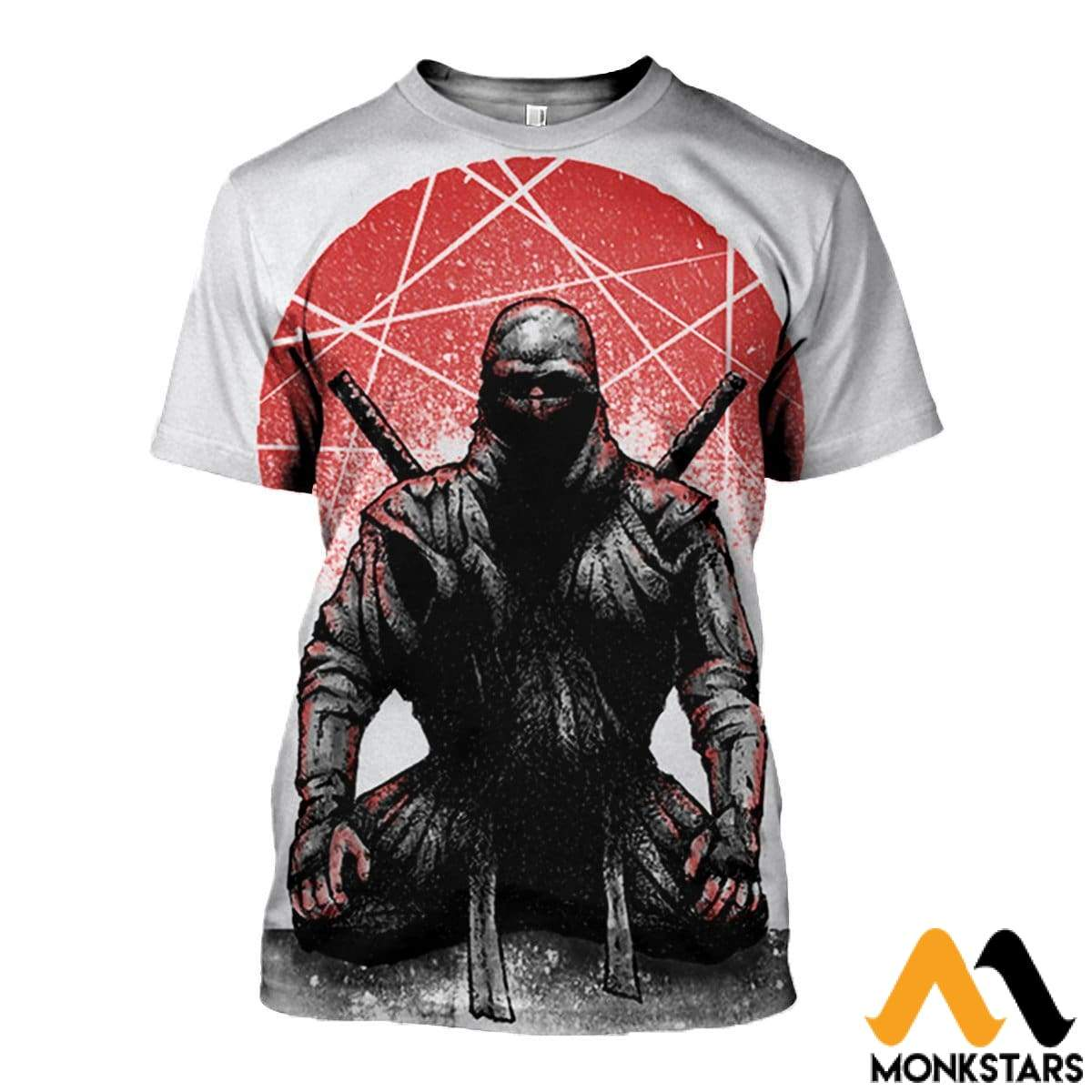 3D All Over Printed Ninja Clothes T-Shirt / Xs