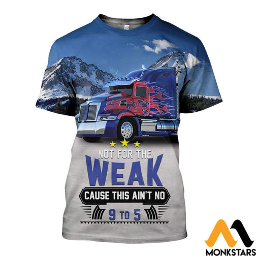 3D All Over Printed Optimus Truck Shirts And Shorts T-Shirt / Xs Clothes