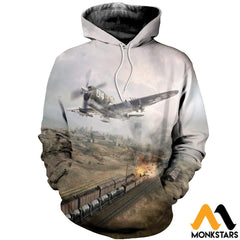 3D All Over Printed P47 Thunderbolt Shirts And Shorts Normal Hoodie / Xs Clothes