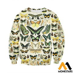 3D All Over Printed Papillons Shirts And Shorts Long-Sleeved Shirt / Xs Clothes