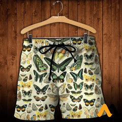 3D All Over Printed Papillons Shirts And Shorts / Xs Clothes
