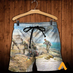 3D All Over Printed Paratrooper Shirts And Shorts / Xs Clothes
