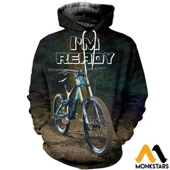 3D All Over Printed Perfect Bicycle T-Shirt Hoodie Sauk160409 Normal / Xs Clothes