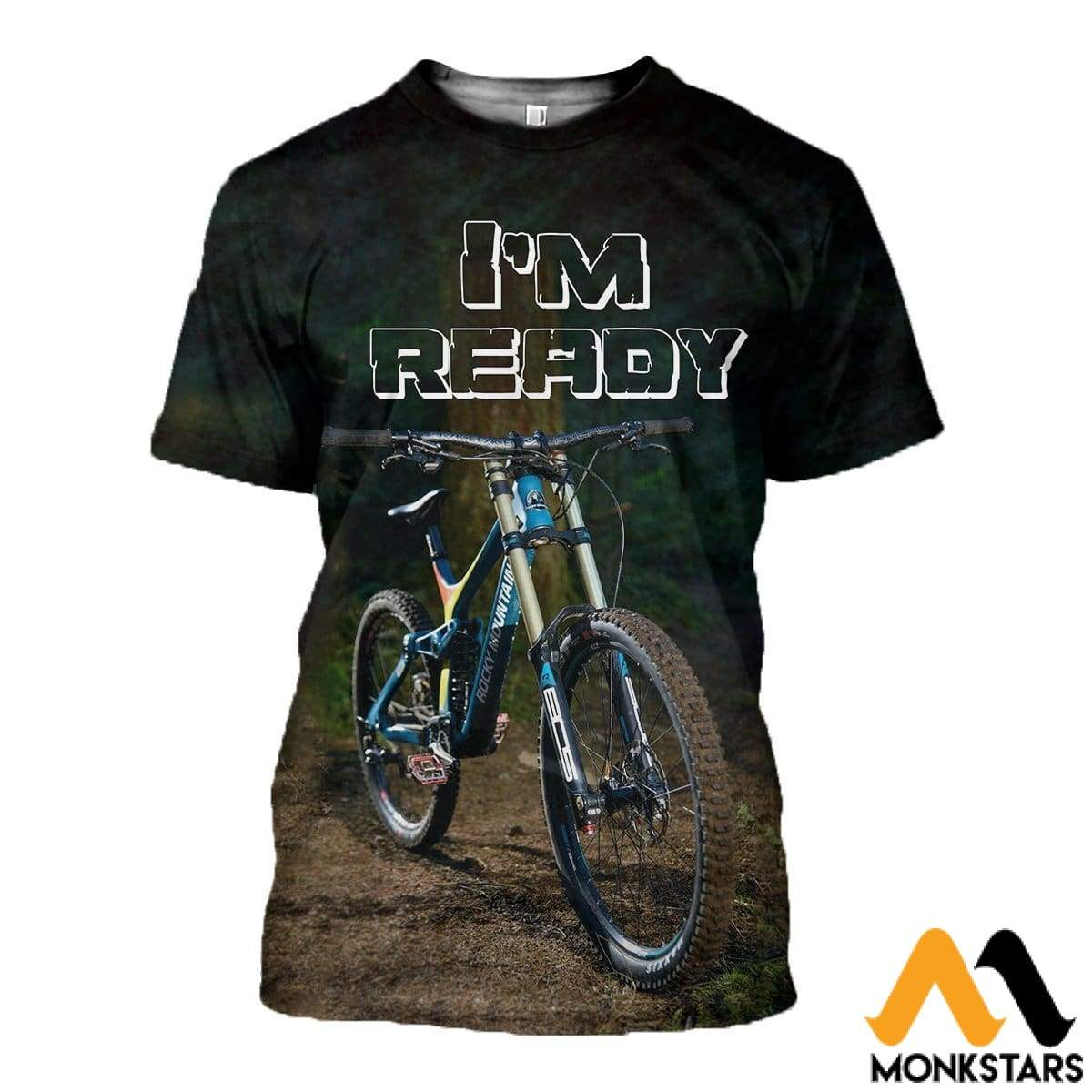 3D All Over Printed Perfect Bicycle T-Shirt Hoodie Sauk160409 / Xs Clothes