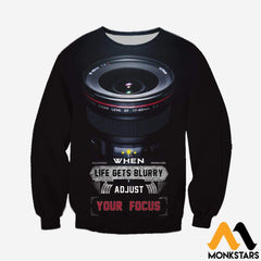 3D All Over Printed Photography And Text Shirts Shorts Long-Sleeved Shirt / Xs Clothes