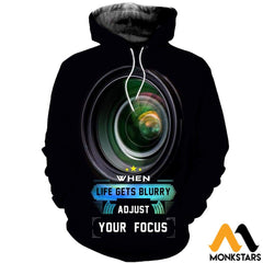 3D All Over Printed Photography Shirts Normal Hoodie / Xs Clothes