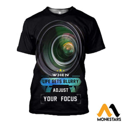 3D All Over Printed Photography Shirts T-Shirt / Xs Clothes