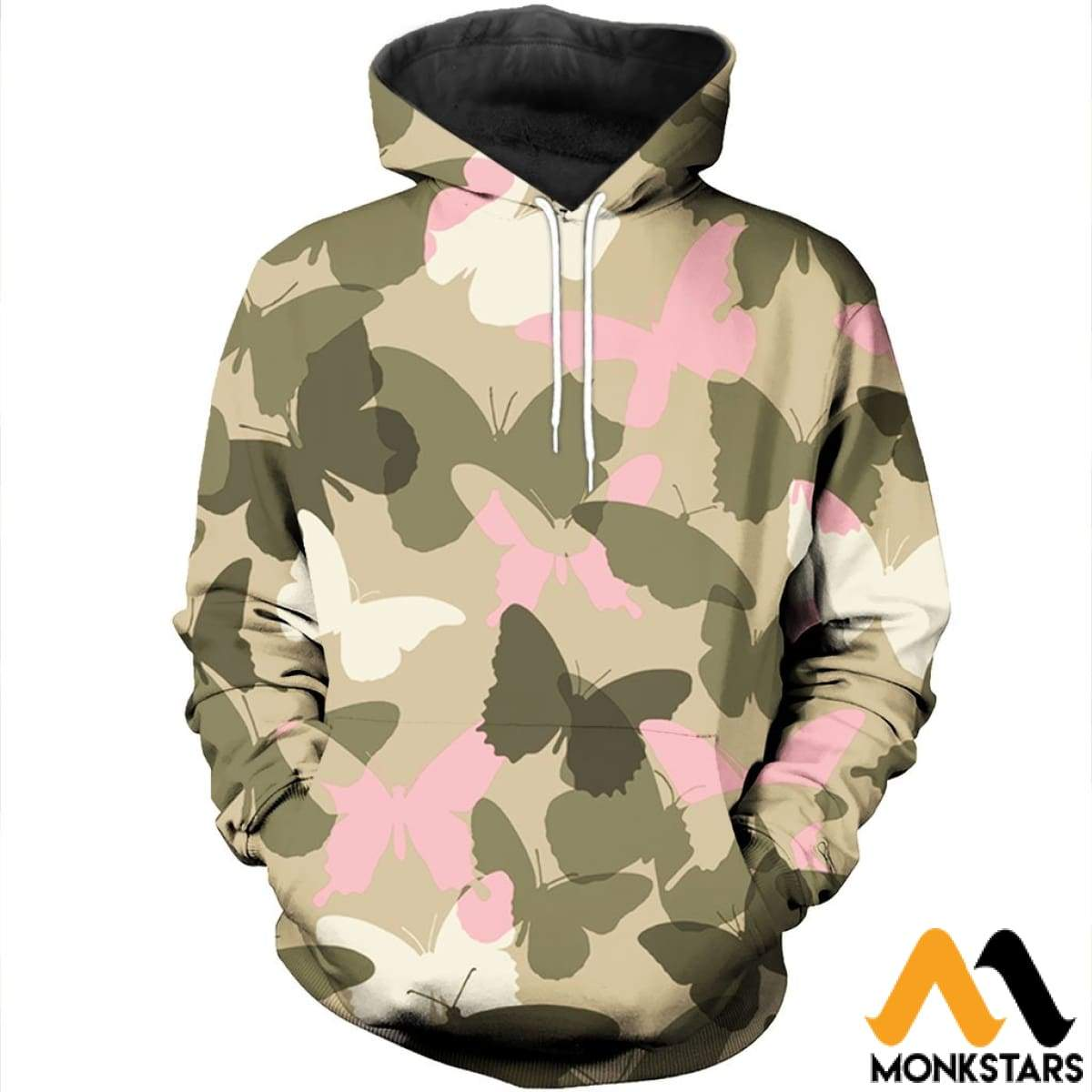 80b188d98c59 Report Design. Previous. 3D All Over Printed Pink Butterfly Camo ...