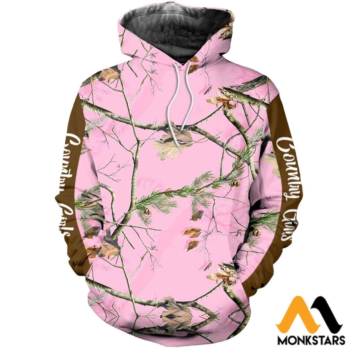 d1c40f1540fb 3D All Over Printed Pink Real Tree Camo Shirts And Shorts Normal Hoodie    Xs Clothes