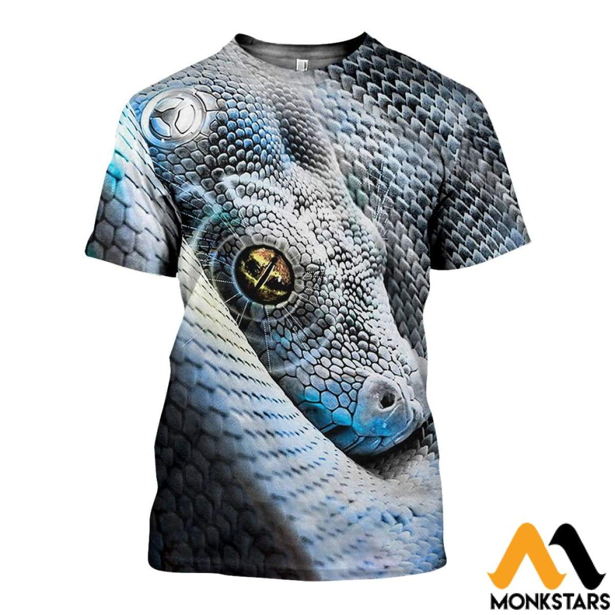 f703bf3e46bd 3D All Over Printed Snake Art Shirts And Shorts T-Shirt   Xs Clothes