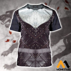 3D All Over Printed Stark Armor Tops Clothes