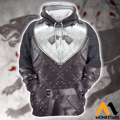 3D All Over Printed Stark Armor Tops Normal Hoodie / Xs Clothes