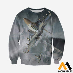 3D All Over Printed Su 30 Clothes Long-Sleeved Shirt / Xs