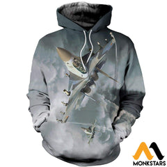 3D All Over Printed Su 30 Clothes Normal Hoodie / Xs