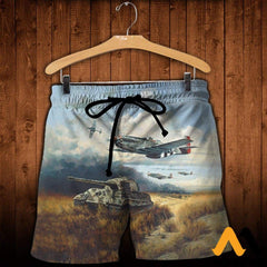 3D All Over Printed Tiger Hunt Shirts And Shorts / Xs Clothes