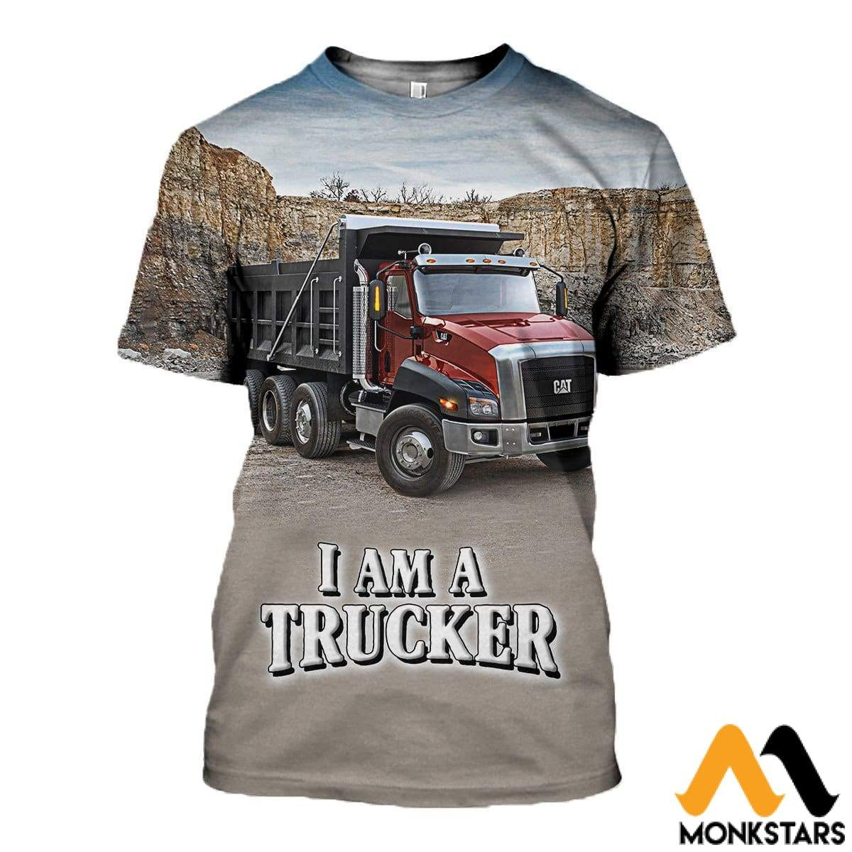 18fb5ce3c 3D All Over Printed Truck Driver T-Shirt Hoodie Sttk190401 / Xs Clothes