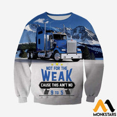 3D All Over Printed Truck Shirts And Shorts Long-Sleeved Shirt / Xs Clothes