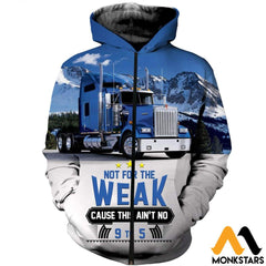 3D All Over Printed Truck Shirts And Shorts Zipped Hoodie / Xs Clothes