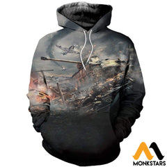 3D All Over Printed War Thunder Shirts And Shorts Normal Hoodie / Xs Clothes