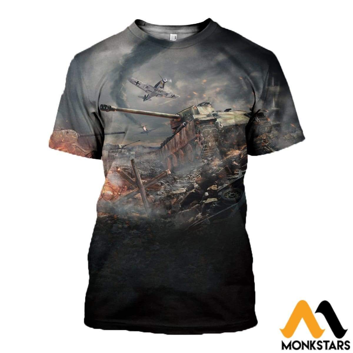 3D All Over Printed War Thunder Shirts And Shorts T-Shirt / Xs Clothes