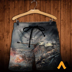 3D All Over Printed War Thunder Shirts And Shorts / Xs Clothes