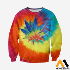 3D All Over Printed Weed Peace Shirts And Shorts Long-Sleeved Shirt / Xs Clothes