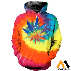 3D All Over Printed Weed Peace Shirts And Shorts Normal Hoodie / Xs Clothes